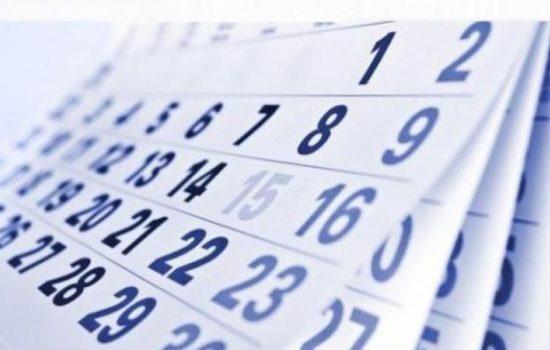 Calendarul sărbătorilor legale: 15 zile libere în 2021